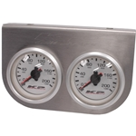 Gauge Panel - Two Dual Needle 0-200 psi Gauges