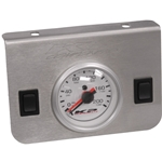 Gauge Panel - One Dual Needle 0-200 psi Gauge with Two Rocker Switches
