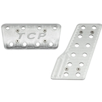 Mustang 64-70, Cougar 67-70 - Billet Pedal Cover Set, Automatic (2-piece)