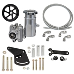 Integral Reservoir Sportsman Pump Kit with Serpentine Pulley - Ford Small-Block Short Deck