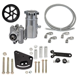 Integral Reservoir Sportsman Pump Kit with Serpentine Pulley - Ford Small-Block Tall Deck