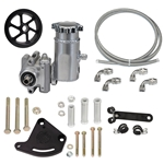 Integral Reservoir Sportsman Pump Kit with Serpentine Pulley - Ford Big-Block FE