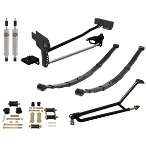 Mustang 64-73 - Leaf Spring Suspension (Stage 6)