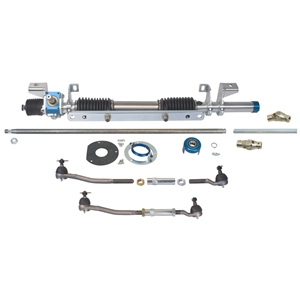 Mustang 64-70, Ford/Mercury 60-70 - Manual Rack and Pinion for OEM Steering Column