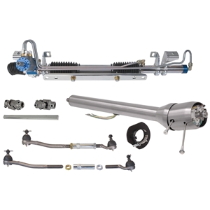 Mustang 64-70, Ford/Mercury 60-70 - Power Rack and Pinion for Aftermarket Steering Column