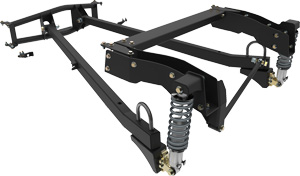 KP Components - Coil-Over Trailing Arm Suspension